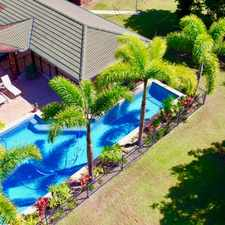 Rental info for A PIECE OF PARADISE- BEACH FRONT HOME WITH POOL AND SHED in the Bucasia area