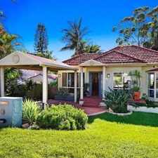 Rental info for Backyard Paradise! in the Sydney area