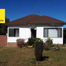 Rental info for ClOSE TO CANLEY HEIGHTS CBD
