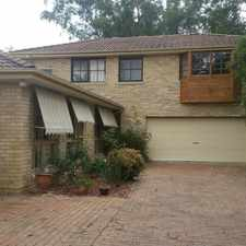 Rental info for Large home with loads of room ! in the Bowral - Mittagong area