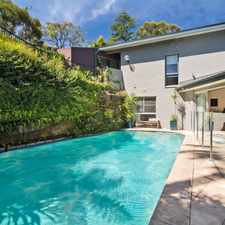 Rental info for Stunning Family Home Entertainers Delight in the Sydney area