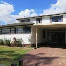 Rental info for HUGE FAMILY HOME! in the Sydney area