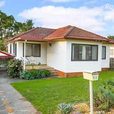 Rental info for ACTIVE FAMILY LIVING IN BRIGHT HOME WITH LARGE BACKYARD in the Pendle Hill area