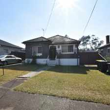 Rental info for DOUBLE BRICK HOME - WALK TO STATION, SHOPS & SCHOOLS! in the Punchbowl area