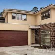 Rental info for MODERN LUXURY in the Melbourne area