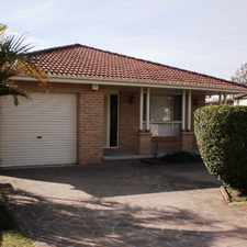 Rental info for WELL PRESENTED 3 BEDROOM HOME in the Albion Park Rail area