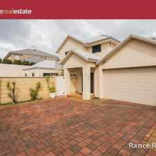 Rental info for ULTIMATE COASTAL LIVING! in the Perth area