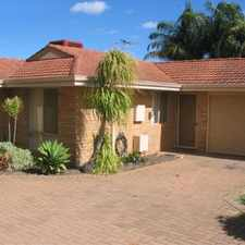 Rental info for COSY COMFORTABLE VILLA CLOSE TO PERTH AIRPORT in the Belmont area
