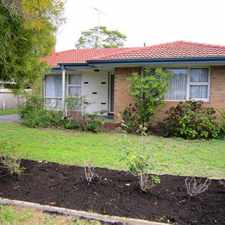 Rental info for Pet Friendly with Spacious Back Yard in the East Bunbury area
