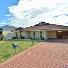 Rental info for Fresh and inviting family home in the Perth area