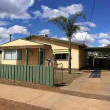 Rental info for South Kalgoorlie Home in the Kalgoorlie - Boulder area
