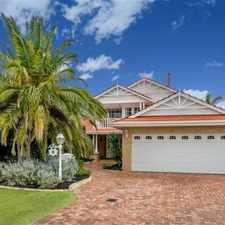 Rental info for A Coastal Gem - Don't Miss Out ! in the Hillarys area