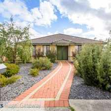 Rental info for Harvest Lakes Convenience - Family Home - 4 x 2 - $400 p/w in the Perth area