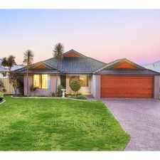 Rental info for SPACIOUS 4x2 ENTERTAINERS DREAM IN BEAUTIFUL BROADWATER in the Busselton area