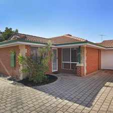 Rental info for Quiet location and complex. in the Tuart Hill area