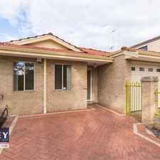 Rental info for Well maintained villa, close to all amenities in the West Leederville area