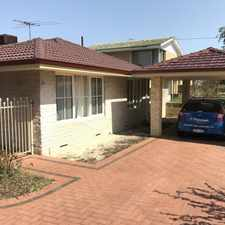 Rental info for MAKE THIS ONE HOME IN THE PERFECT LOCATION! in the Perth area