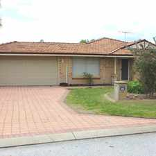 Rental info for LOVELY FAMILY HOME in the Safety Bay area
