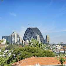 Rental info for Large Two-Bedroom Apartment with Harbour Bridge Views in the Kurraba Point area