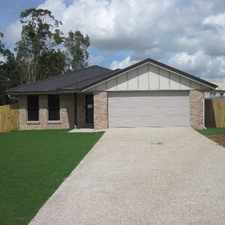 Rental info for LARGE BLOCK - BACKING ONTO PARKLAND!! in the Brisbane area