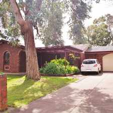Rental info for Comfortable Family Home In A Quiet Neighborly Street