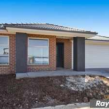 Rental info for New and Elegant Family Home in Grove Estate in the Tarneit area
