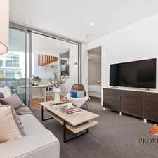 Rental info for Pure Elegance - Luxury 1 Bedroom Apartment at Queens Riverside in the Perth area
