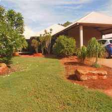 Rental info for Perfect Family Home in the Broome area