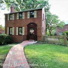 Rental info for 924 N. Liberty Street in the Bluemont area