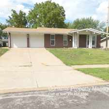 Rental info for 1375 Seminole Lane in the Florissant area