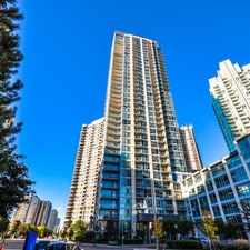 Rental info for 225 Webb Drive #2302 in the Mississauga area
