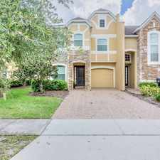 Rental info for $3000 3 bedroom Townhouse in Orange (Orlando) Orlando (Disney) in the Meadow Woods area