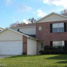 Rental info for 14486 Woodfield Cir S Jacksonville Four BR, Giant home with one