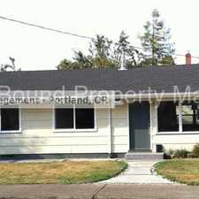 Rental info for nice 3 Bedroom home in St. Johns / N. Portland Pet Friendly in the University Park area