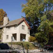 Rental info for 611 N Washington St in the Bloomington area