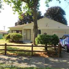 Rental info for 7826 SE Raymond Street in the Foster-Powell area