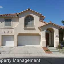 Rental info for 1257 Morning Skyline Court in the Sun City Anthem area