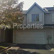 Rental info for 3 bed/2 bath home with cozy fireplace.