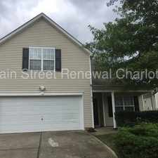 Rental info for Huge FOUR Bedroom Home In Charlotte in the Coulwood East area