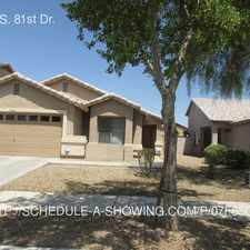 Rental info for 3307 S. 81st Dr.
