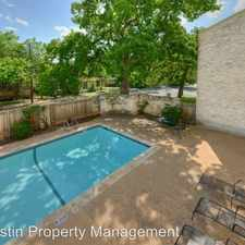 Rental info for 808 W. 29th St - Unit 203 in the Austin area