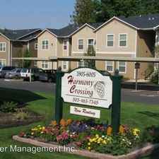 Rental info for Harmony Crossing 5905-6005 Trail Ave. NE