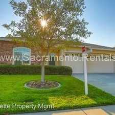 Rental info for 4335 Lakebreeze Drive in the Granite Bay area