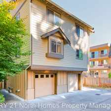 Rental info for 13435 Greenwood Ave N #G