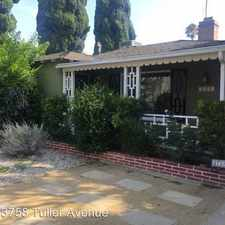 Rental info for 3758 Tuller Avenue in the Palms area