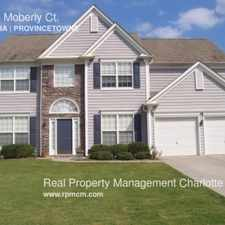 Rental info for 10614 Moberly Ct. in the Providence Crossing area