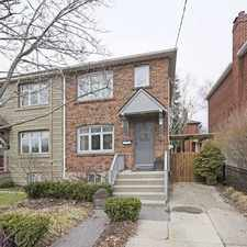 Rental info for 140 Swanwick Avenue in the East End-Danforth area