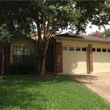 Rental info for 7702 High Village Drive in the Houston area