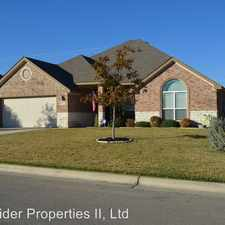 Rental info for 1507 Hazelnut Dr. in the Harker Heights area