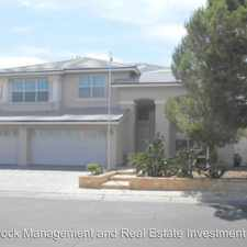 Rental info for 3833 Ruskin St in the Las Vegas area